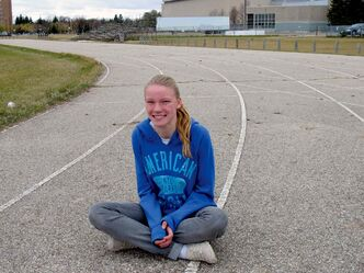 Jennie Baragar-Petrash is this week's MHSAA Athlete of the week after finishing first overall at the provincial cross country championships, where she completed against Grade 12 students. In August, she was a national champion at the Legion National Youth Track & Field Championships in Langley, BC.