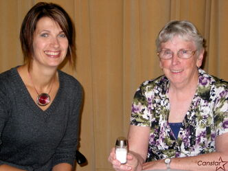 Dietitian Jennifer Botterill and Headingley Seniors Serices coordinator Jean Ammeter recommend throwing out your salt shaker.