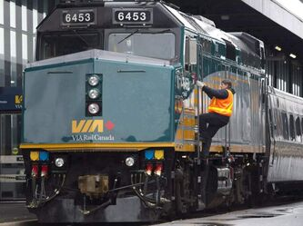 Via Rail says if its customer service and other employees go on strike this week, management will continue to offer basic railway services.