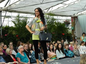 Shelmerdine Garden Centre at 7800 Roblin Blvd. in Headingley holds semi-annual fashion shows in support of Osborne House.