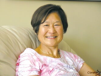 Marie Ohta, a long-time Royalwood resident, is a proud Winnipeg Fringe Festival volunteer.