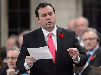 Jason Kenney in Ottawa on sTuesday, Nov.5, 2013. THE CANADIAN PRESS/Sean Kilpatrick