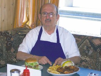 Owner John Ginakes has been running the Thunderbird Restaurant since 1963.