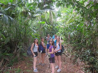 Oak Park teachers Ainsley McIntyre and Doris Nelson hope that students will eventually earn credit for an annual trip they take to Costa Rica.