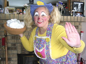 Deanna Hartmier — a.k.a. Dee Dee the Clown — is the first Canadian president of the World Clown Association.