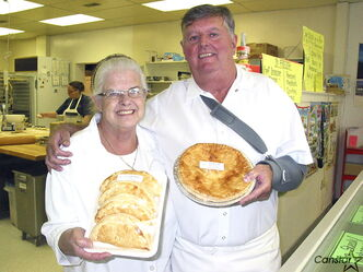 Maureen and Jim McKeown will soon be handing over the reins at Molly's Meat Pies in St. Boniface.