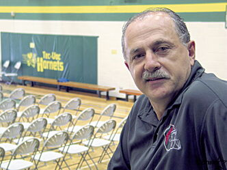 Joe DiCurzio retired after 30 years of teaching and coaching at Tec Voc High School earlier this week.