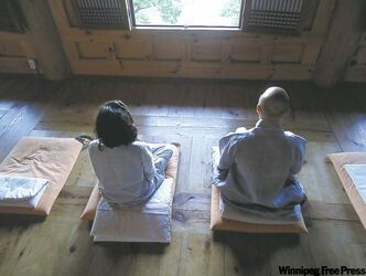 Mihwangsa is perfect for those seeking peace of mind or a quiet place to meditate.