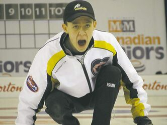 Kyle Doering is top seed heading into junior provincials this weekend in Brandon.