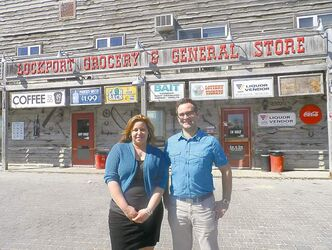 Siblings Roxy and Mike Faires of Lockport Grocery and General Store.