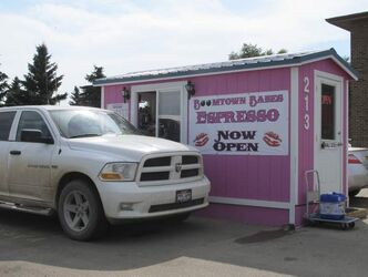 Small espresso shacks catering to oil workers in pickup trucks have popped up in Williston parking lots.