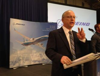 Kevin Bartelson, general manager of Boeing Winnipeg.