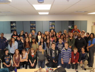 Staff and students at West Kildonan Collegiate will be raising food for Winnipeg Harvest through the school's Social Justice Club.