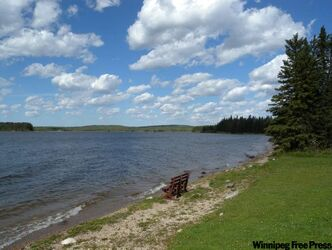 Whitefish Lake teems with walleye and northern pike.