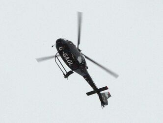 Winnipeg Police Service helicopter Air One.