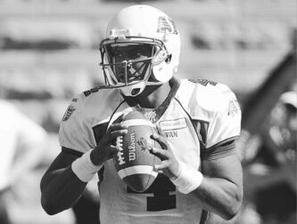Saskatchewan Roughriders quarterback Darian Durant's statistics are heading in the wrong direction.
