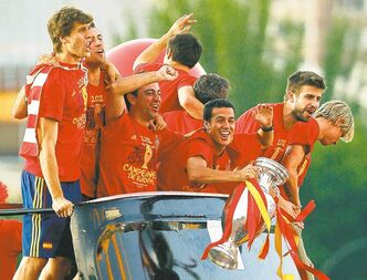 With the Euro 2012 Championship trophy in hand, Spain now looks ahead to the World Cup in 2014.