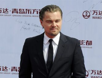 FILE - This Sept. 22, 2013 file photo shows actor Leonardo DiCaprio at the launching ceremony of Qingdao Oriental Movie