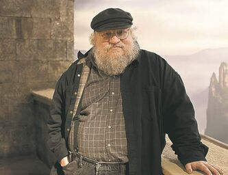 Game of Thrones novelist George R.R. Martin.