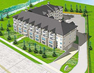 An artist's rendering of 3411 Pembina Highway.