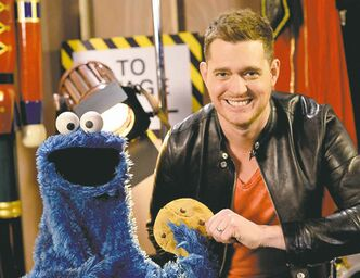 Michael Bublé loves Christmas the way Cookie Monster loves cookies: a whole bunch.
