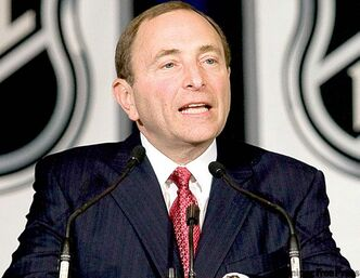 NHL commish Gary Bettman plans to be in the crowd, too.