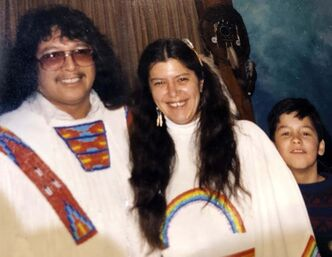 <p>SUPPLIED</p><p>Dave Courchene Jr. and Orianna were married for 49 years.</p></p>