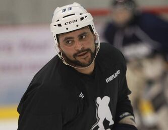 Recent arrival Dustin Byfuglien expects 'to get back into the groove of things' in a few days at Jets' training camp.
