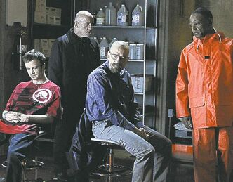 Breaking Bad cast costumes will be sold at thrift store to raise funds.