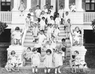 More than 2,000 children from single moms and families who couldn't afford another mouth to feed ended up at Asile Ritchot orphanage in St. Norbert. The Sisters of Misericorde opened in 1904 to house the rising number of unadopted children. It closed in 1948.