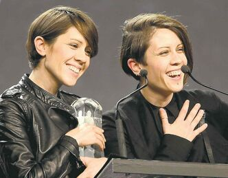 Tegan and Sara finally get their Juno —  for Pop Album of the Year.