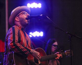 Dallas Green of City and Colour headlines the main stage at the Winnipeg Folk Festival Wednesday night.