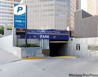 Winnipeg Square Parkade