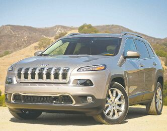 The all-new 2014 Jeep Cherokee will be avilable with Chrysler's ZF-designed nine-speed automatic transmission.