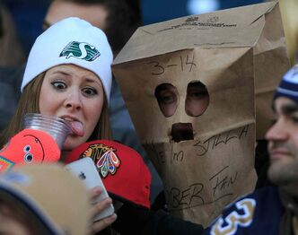 The Winnipeg Blue Bombers didn't give fans much to cheer about Saturday afternoon.
