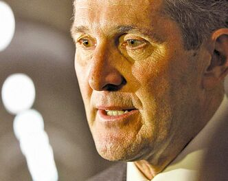 Brian Pallister contends the premier knew Christine Melnick (left) was lying.