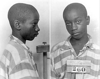 George Stinney's mug shot.