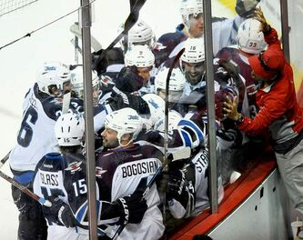 The joyous mob surrounding Tim Stapleton after his overtime winner is the stuff on which future success is built.