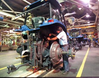 Buhler is the only Canadian manufacturer of tractors