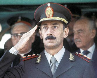 Gen. Jorge Rafael Videla, shown in a 1977 photo, ran a repressive Argentine regime responsible for the deaths of thousands.
