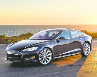 The 2013 Tesla Model S was built from scratch, unlike the company's Roadster.