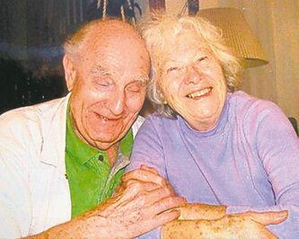 Elvira Umbach, with husband Heinz, is one of 14,000 people registered in the WRHA program.