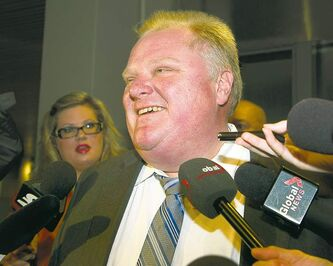 Reports say a video appears to show Toronto Mayor Rob Ford smoking crack cocaine. Ford called the allegations ridiculous.