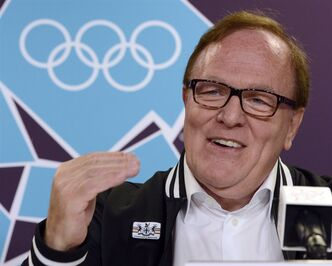 Canadian Olympic Committee President Marcel Aubut speaks to reporters at the opening news conference for the 2012 Summer Olympics Friday, July 27, 2012 in London. The COC says a one-time $2.6-million contribution will be made to Canadian teams competing at the 2015 Pan American Games in Toronto.THE CANADIAN PRESS/Ryan Remiorz