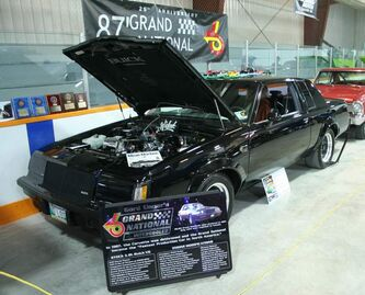 Gord Unger's 1987 Buick Grand National. This car just turned 25.