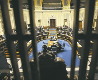 Youth Parliament Manitoba opened its 91st annual winter session at the legislature Wednesday evening.