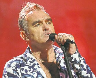 English singer and lyricist Morrissey performs Jan. 18, 2013 at The Sovereign Performing Arts Center in Reading, Pa.