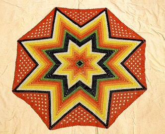 A reader sent Colleen Simard a beaded star.