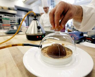 Molecular gastronomy is finding its way out of the lab and into homes.