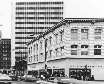 Holt Renfrew first entered the Winnipeg marketplace with its store at the southeast corner of Portage Avenue and Carlton Street in 1910.